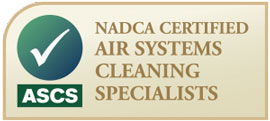 NADCA Certified - Air Systems Cleaning Specialist
