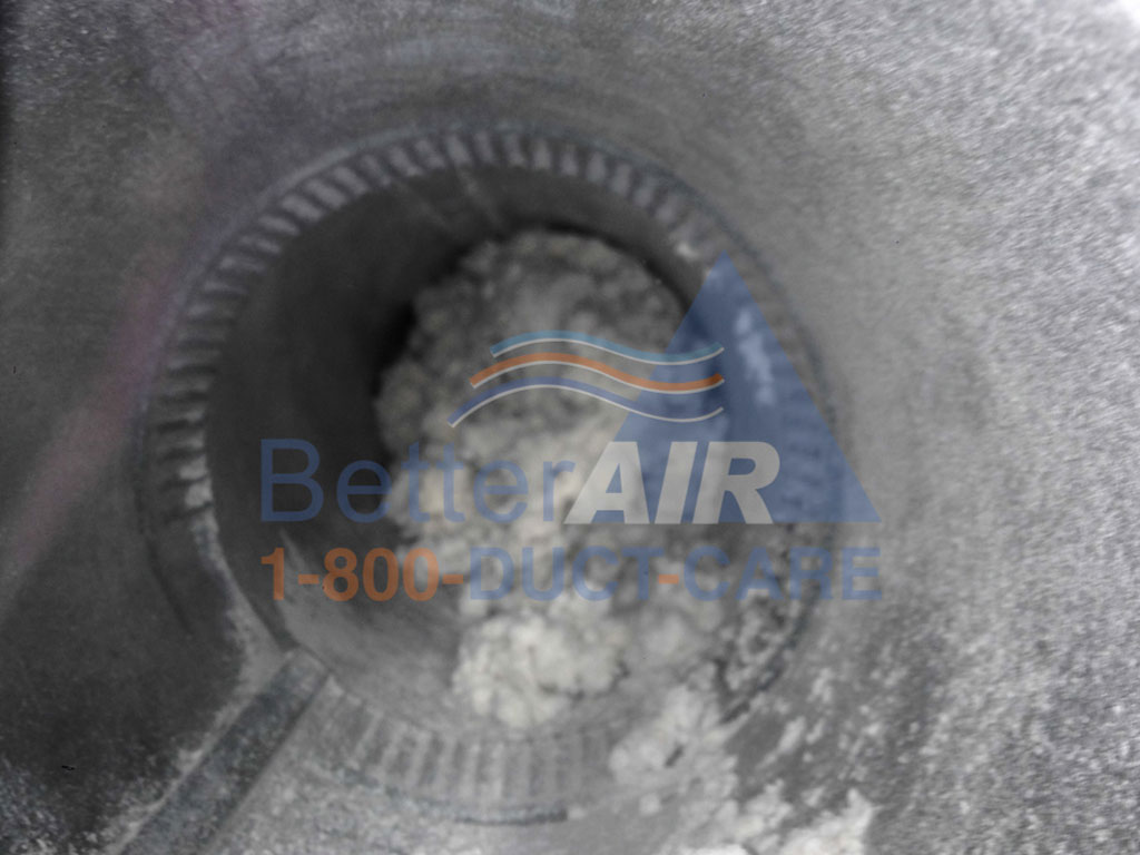 Dryer Duct Clogged - Better Air Residential Air Duct Cleaning