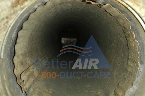 Air Duct - AFTER Cleaning - Westwood, MA