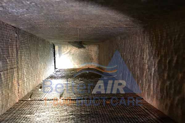 Better Air - Customer's Air Duct  - After Cleaning - New Haven, CT