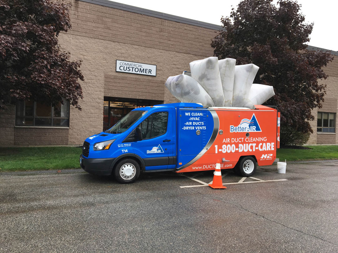 better air at work commercial duct cleaning - Duct Cleaning Jobs
