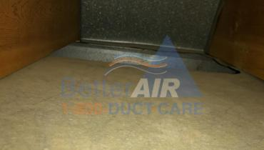 Air Duct - AFTER Cleaning