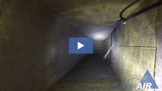 Video: Air Duct Cleaning Before & After Video in Stamford, CT - Tech POV Cam